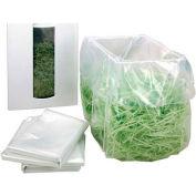 """HSM® Shredder Bags, 36"""" x 30"""" x 53"""", 50/Box, Fits FA400 (Single Bin Set Up)"""