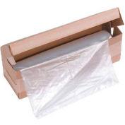 """HSM® sacs de Shredder, 42 """"x 56"""", plat, 50/boîte, Fits KP80 & KP88 presse à balles"""