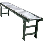 """Hytrol® 10 Ft. - 18""""W - 1.9"""" Dia. Galvanized Rollers - 15"""" Between Rail - 6"""" Rollers Centers"""