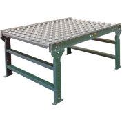 "Hytrol® 3' Ball Transfer Table 3FT-BTT35-13-4 - 13"" Between Frame - 4"" Ball Center"