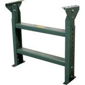 """Hytrol® Stationary Floor Support LS-7-18 - 18""""W - Max. Leg 45-1/3""""H"""