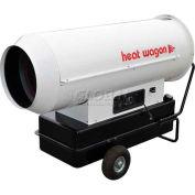Chauffer l'huile à haute pression Wagon forcé Air radiateur DF400 - 400K BTU