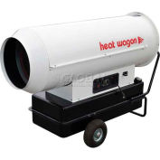 Chauffer l'huile à haute pression Wagon forcé Air radiateur DF600 - 600K BTU