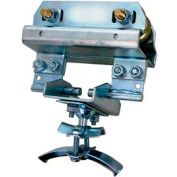 """Hubbell Tow Trolley W/ S Beam Support, 6-1/2""""L x 4-1/2""""W, Gray"""