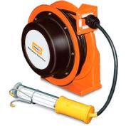 Hubbell GCC16370-FL devoir industriel enrouleur à main Fluorescent Lamp - 16/3 c x 70'