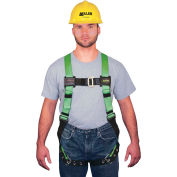 Miller® HP™ Non-Stretch Harness, Mating & Tongue Buckle, Universal, 650T-4/UGK