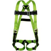 Miller DuraFlex Python ® Harness, Back/Chest Side D-Ring, Universal, P950-4/UGN