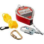 Galvanisé de Miller® MightyLite™ autorétractable Lifeline, 20' L, câble, RL20G-Z7/20 FT