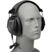 Howard Leight 1030110 Sync Stereo Earmuff with Audio Input Jack, NRR 25