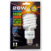 SunBlaster SL0900156 CFL 6400K Grow Light Bulbs, 26W
