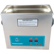 Ultrasonic Table Top Part Cleaning System - Digital Timer/Heat, 1 Gal, 45 kHz, 115V