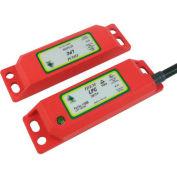 IDEM 110008 LPC codé interrupteur sans Contact W/LED, 8Way, 2NC 1NO, QC M12, qté par paquet : 2