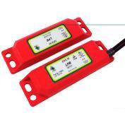IDEM 110015 LPR Magnetic Non Contact Switch, 10M, 2NC 1NO