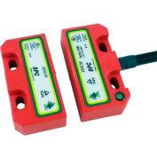 IDEM 111008 SPC codé interrupteur sans Contact W/LED, 8Way, 2NC 1NO, QC M12, qté par paquet : 2