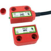 IDEM 114107 MPC codé interrupteur sans Contact avec LED-câble droit, 10M, 2NC 1NO, qté par paquet : 2