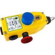 """IDEM 142026 GLS remplacement du couvercle, 10"""" L x 5"""" W x 4 «HDie Cast, jaune"""