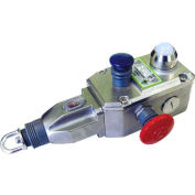 IDEM 144014 GLS-SS Rope Pull Switch W/E Stops, 3NC 1NO, 1/2NPT, SS