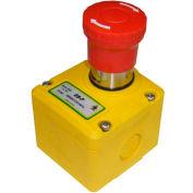 IDEM 230002 ES-P E-Stop Switch Knockout, 1/2NPT, 3NC, M20, Die Cast