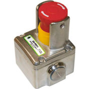 IDEM 231006 ES-SS(P) E-Stop Switch, 2NC 1NO, 1/2NPT