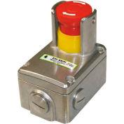 IDEM 232010 interrupteur d'arrêt d'urgence ESL-SS(P), 2NC 2NO, 1/2NPT