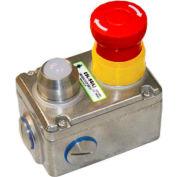 """Couvercle de remplacement de 232102-A ESL-SS(L) IDEM, 8"""" L x 6"""" W x 4 «H, SS"""