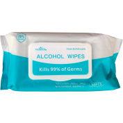 Lingettes de désinfectant Meishiyu - 50 lingettes/pack