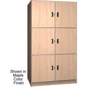 Ironwood 3 Compartment Solid Door Wood Storage Cabinet, Folkstone Color