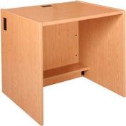 "36"" x 29"" Desk Shell - 36""W x 30-1/8""D x 29-5/8""H Amber Ash"