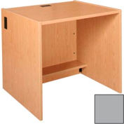 """36"""" x 29"""" Desk Shell - 36""""W x 30-1/8""""D x 29-5/8""""H Gray"""