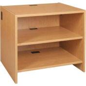 "Adjustable Shelf Unit - 36""W x 30-1/8""D x 32-1/8""H Amber Ash"