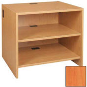 "Adjustable Shelf Unit - 36""W x 30-1/8""D x 32-1/8""H Oiled Cherry"