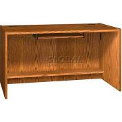"Keyboard Shelf for CDC - 27-5/8""W x 16""D x 4""H Oak"