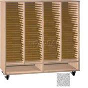 Ironwood Mfg. FS Series - 100 Open Folio Music Storage Cabinet - Castus Star