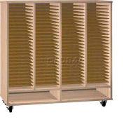 Ironwood Mfg. FS Series - 100 Open Folio Music Storage Cabinet - Maple