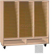 Ironwood Mfg. FS Series - 75 Open Folio Music Storage Cabinet - Castus Star