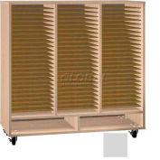 Ironwood Mfg. FS Series - 75 Open Folio Music Storage Cabinet - Folkstone