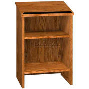 """Dictionary Stand - 23-3/8""""W x 16""""D x 35-1/8""""H Oak"""