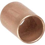 "Oilube® Powdered Metal Sleeve Bearing 201036, Bronze SAE 841, 1/4""ID X 3/8""OD X 1""L"