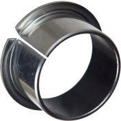 Isostatic TU® Steel-Backed PTFE Flange Bearing 702018, 15mm ID X 17mm OD X 12mm Long