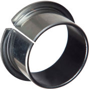 Isostatic TU® Steel-Backed PTFE Flange Bearing 702029, 25mm ID X 28mm OD X 17mm Long