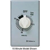 Minuterie Intermatic FF60MHC,60 minutes,125 à 277V SPST, série Commercial, avec maintien pour service continu