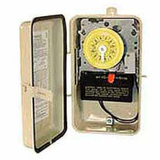 Intermatic T101R201 NEMA 3R - interrupteur horaire en boîtier métallique de Protection W/chauffage, 125V, SPST