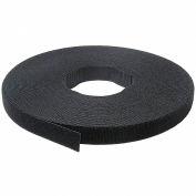 "Velcro® marque One-Wrap® crochet & attaches à fermeture ruban noir 3/8 ""x 75'"