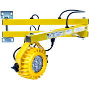 "Ideal Warehouse Innovations DL40-HDLED Heavy Duty LED Dock Light 40"" Arm 1000 Lumens, 5500K, 8' cord"