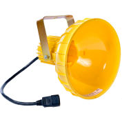 Ideal Warehouse Innovations INCHEAD-P Polycarbonate Dock Light Head, Incandescent