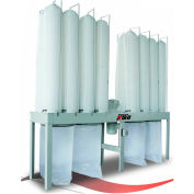 Kufo Seco 10HP 3 Phase Vertical Bag Dust Collector - UFO-104H2 - UFO-104H2