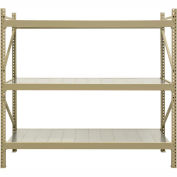 "JBX System 800 Boltless Wide-Span Shelving - 48""Wx24""Dx72""H - Galvanized Steel Panels - Starter Unit"