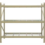 "JBX System 800 Boltless Wide-Span Shelving - 48""Wx18""Dx72""H - Galvanized Wire Decking - Starter Unit"