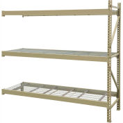 "JBX System 800 Boltless Wide-Span Shelving - 48""Wx18""Dx72""H - Galvanized Wire Decking - Add-On Unit"