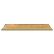 "JBX System 800 Extra OSB Wood Decking for Boltless Wide-Span Shelving - 96""Wx36""D"
